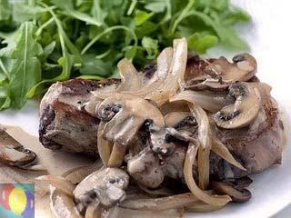 Отбивные под соусом – кулинарный рецепт